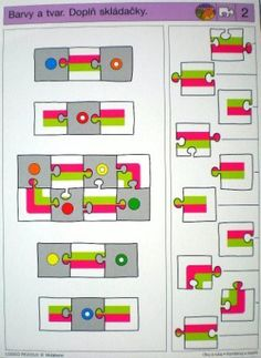 LOGICO PICCOLO | Vizuální vnímání | Kombinuj a doplň | Didaktické pomůcky a hračky - AMOSEK