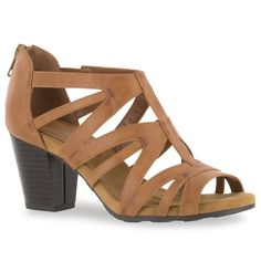 bffab2e9f10887 Easy Street Amaze Women s High Heel Sandals Casual Heels