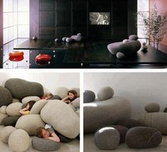 How about some rocks in the living room?