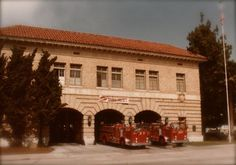 Old Fire Station 27, now the Hollywood branch of the LAFD Historical Society and the site of the Fire Service Research Library.