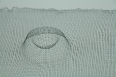 Thermally activated 3D textile with shape memory #3D #Knit