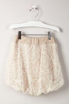 Paulinie Mesh Bubble Skirt