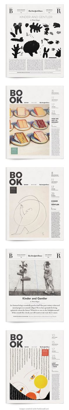 New York Times Book Review | Annie Yi-Chieh Jen | Graphis