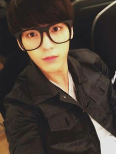 Minhyuk - BTOB. Can you not, with your glasses? >.