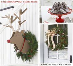 A Scandinavian Inspired Christmas // $50 Starbucks Giveaway