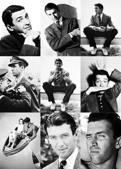Jimmy Stewart. The greatest. Handsome, humble & witty ~raising my standards since birth
