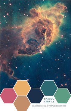 Color Inspiration Hubble Telescope Image