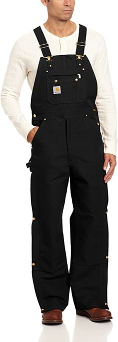 Amazon.com: Carhartt Men's Zip To Thigh Bib Overall Unlined, Carhartt Brown, 46 x 32: Overalls And Coveralls Workwear Apparel: Clothing Carhartt Overalls, Bib Overalls, Hugo Boss Man, Lacoste Men, Thigh, Work Wear, Long Sleeve Shirts, Men Casual, Apparel Clothing