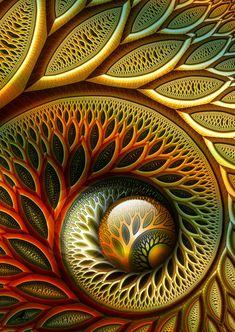 """fractal art: """"Flynn"""" by coby01 2009 via DeviantArt 148456142"""