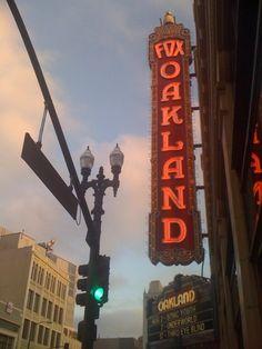 Fox Theater, Oakland, CA