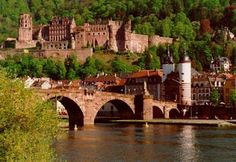 Heidelberg. Beautiful historic architecture.  And a great view of the Neckar River.