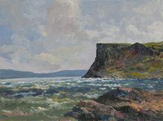 Paintings of Ireland | Winter Sea At Fair Head