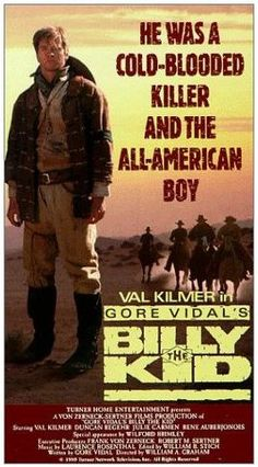 Gore Vidal's Billy the Kid (1989) starring Val Kilmer