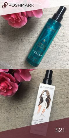 Kerastase Spray a Porter Texture Spray BRAND NEW, NEVER USED!   This medium-hold formula creates soft, seaside waves without the salt-water crunch. Better yet, it provides heat and UV protection, and can also be used as a texturizer to revive second-day hair   💙💙💙 Kerastase Other