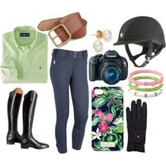 Trying Horses, created by rider-chic on Polyvore