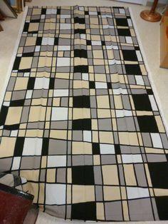 """Marimekko Finland, Maija Isola: """"Pohjaanmaa"""" BIG Fabric from 2003 #Marimekko #Graphics #Fabric"""