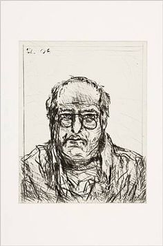 Zelfportret William Kentridge