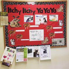 Flea prevention bulletin board for veterinary offices!