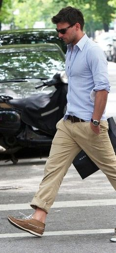 casual style on the move :: Johannes Huebl