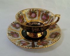 ***RARE*** RW Bavaria 30 China Tea Cup & Saucer  http://www.ebay.com/itm/-/262313764899?roken=cUgayN