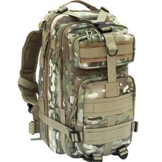 Amazon.com : CVLIFE Outdoor Tactical Backpack Military Rucksacks for Camping Hiking and Trekking Waterproof 30L (CP) : Sports & Outdoors