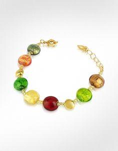 Antica Murrina  Frida - Murano Glass Bead Bracelet