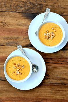 Carrot Peanut Soup