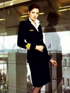 Christian Lacroix uniform for Air France Air France, Christian Lacroix, Project Runway, Air Hostess Uniform, Stewardess Costume, Pilot Uniform, Airline Cabin Crew, Airline Uniforms, Flight Attendant Life