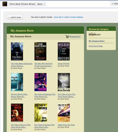 Self-publishing for Beginners: How to add an Amazon Store to your Facebook Page NOTE: I have NOT tried this so cannot attest to it working but people have asked me how to do this so I am sharing these steps - please let us know, in the comments below, if it works for you.   Thank you!