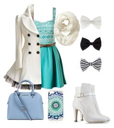 """""""Fashion day"""" by risa899 ❤ liked on Polyvore featuring Alberta Ferretti, Michael Kors, Old Navy and Accessorize"""