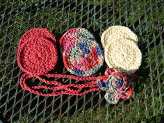Face Scrubbie by Yarniwa by yarniwa on Etsy, $8.00