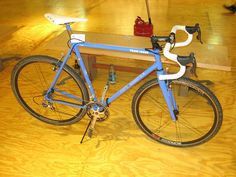 Curt Goodrich's cyclocross bikes are pretty awesome.