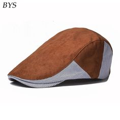 6b75ade7983 Aliexpress.com   Buy 2016 Plaid Golf Hat Fashion Herringbone Tweed Gatsby Newsboy  Cap Cotton Ivy Hunting Driving Flat Cabbie Flat Unisex Beret Hat from ...