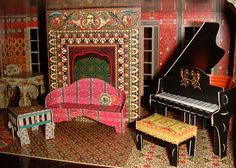 The Dollhouse Diaries: My Maharaja's Palace: Day 135-A Dream Home For Sans! (click through for blog..more info and pics)