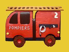 Thème Camion de pompiers.
