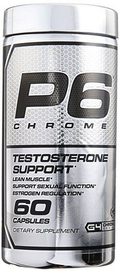 Cellucor P6 Chrome 60 capsules Mens Sexual support Lean Build Muscle Builder New #Cellucor
