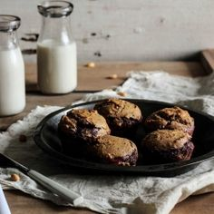 Peanut Butter  Jelly Muffins—a grown-up makeover of a childhood staple.