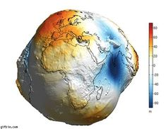 Image result for Shape of Earth without Water
