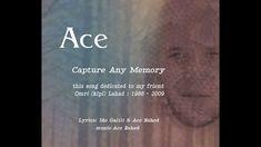 Ace Eshed - Capture any memory - Lyrics   ace music