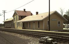 lee hall train station | Lee Hall Station before Relocation (August 1982)