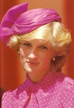 Princess Diana hats.