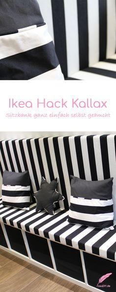kallax ikea hack als bank. Black Bedroom Furniture Sets. Home Design Ideas