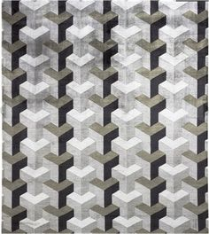 Quilt Inspiration: Tumbling blocks... more illusions