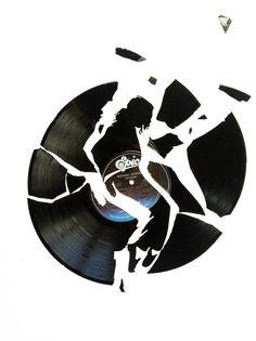 Art of Music : Thriller (Michael Jackson Vinyl record)