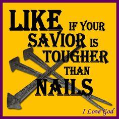 Yes ~ Yes, JESUS is!!  He is my Savior. He paid my sin debt in full.