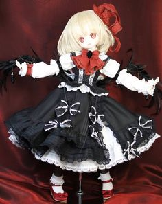 Kawaii Doll, Anime Figurines, Anime Dolls, Cute Dolls, Ball Jointed Dolls, Magical Girl, Puppets, Chibi, Cosplay