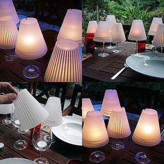 9 te gekke ideetjes voor zelfmaak lampjes in de tuin!