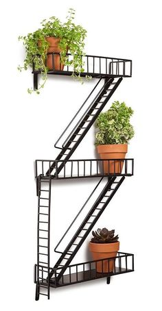 #Bonanza #Shelf #Storage #Home #Office #Decoration #Fire #Escape #Modern #Industrial #Gift #Present #Unbranded