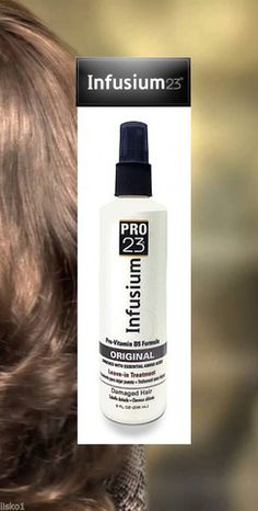 Infusium 23 Pro Leave-In Treatment Original Barber Supplies, Hair Conditioner, Damaged Hair, Beauty Supply, Down Hairstyles, Beauty Hacks, Beauty Tips, Vitamins, Hair Care