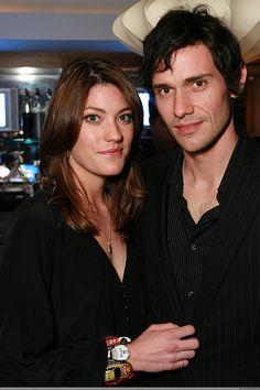 Jennifer Carpenter and Christian Camargo from Dexter Season 1